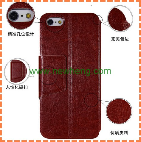 wholesale Crazy Ma Wen leather ultra thin case for iphone 5