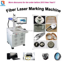 Fiber Laser Making Machine For Steel Plates Metal Marking or Printing With Logo Trademark