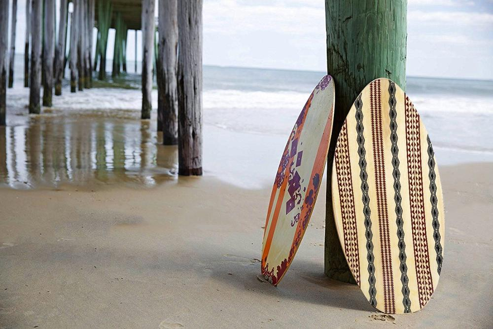 Skimboard Wooden Surfboard Stand for Surfing