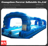 100 ft slip n slide inflatable slide the city