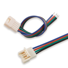 10mm 4 Pin RGB Male Female Cable Led Strip Connector for SMD 5050 RGB