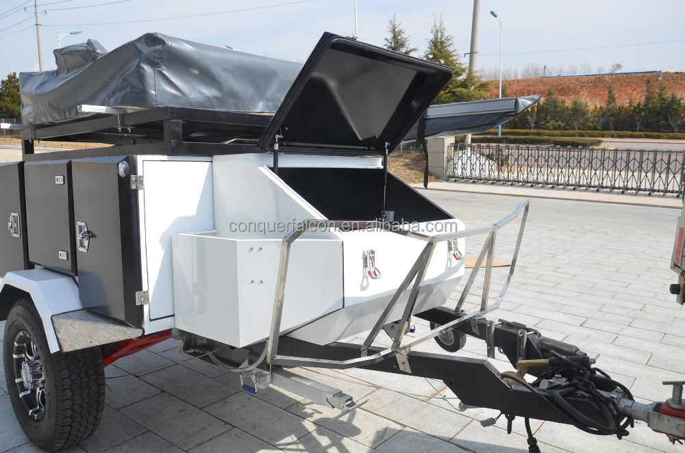 CHINESE MANUFACTURER Top roof tent CAMPER TRAILER