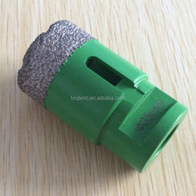 Vacuum brazed diamond hole cutter M14 for glass, marble ,granite, limestone, hard tile, porcelain,metal,concrete
