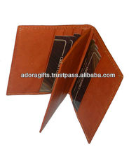 leather customized card cases / smart card cases / multiple business card holders