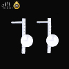 A01 New Product 2019 Custom Logo Fashion Jewelry Gold Diamond Pearl Stud Earring