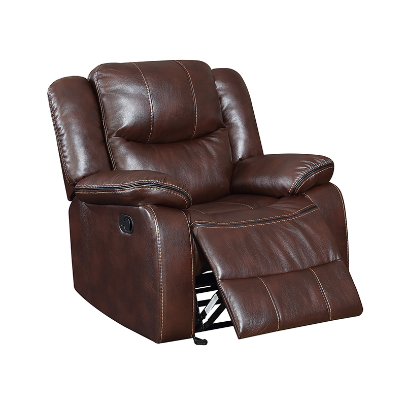 Living Room Swivel Rocker Recliner Sofa Set For Sale ,Very Comfortable 9824G