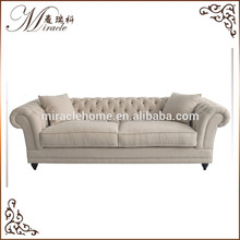 New modern design three seat furniture Living Room Sofa with removable
