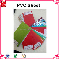 0.5mm color PVC rigid film for drum wrap