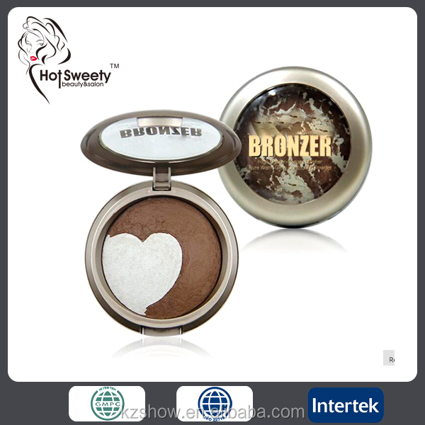 portable makeup powder makeup face powder pressed longlasting compact powder