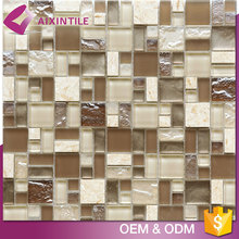 Interior Decorative Wholesale Crystal Mosaic Tile Price