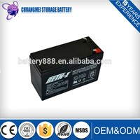Factory Price!Sealed Lead Acid Ups Battery 12v 7ah in stock