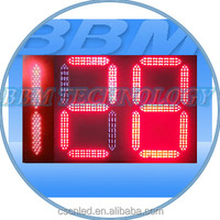 Red 2.5 digit led counter