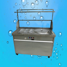 Hot Sale roll fried ice cream machine, ice cream machine in roll, roll ice cream machine with cooling pan