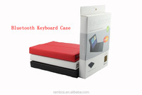 Leather Case with Silicone Keyboard, Bluetooth Wireless Keyboard Cover Case for Samsung P5200 P600 10.1