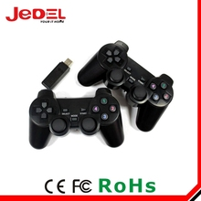 USB Twin 2.4Ghz Wireless Remote Controller Gamepad for PC