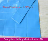 10mm*20mm*2mm Cooling Thermal Conductive Heatsink Silicone Soft Gap Pad
