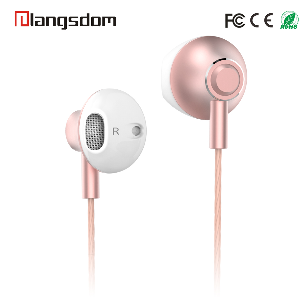china alibaba bulk promotion wholesale handfree in-ear earphone with mic metal sport earphones headphones ear phone mobile