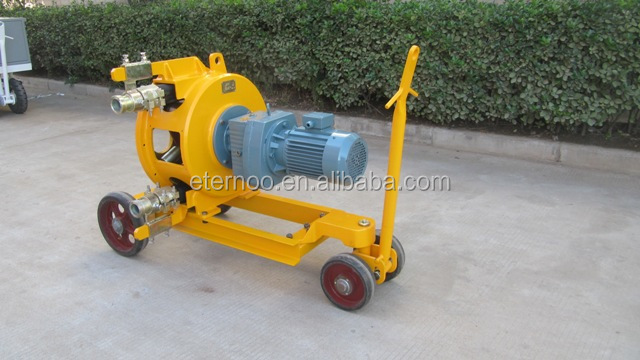 eternoo portable hose pump for spraying mortar