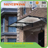 Flat Aluminum frame canopy for door and window or balcony with metal roof canopy