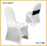 2015 high quality white spandex chair covers wholesale for wedding/banquet/hotel