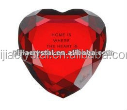 Personalized Cheap Heart Crystal Diamonds For Wedding Gifts