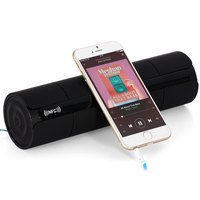 Multifunctional Portable Wireless Bluetooth V3.0 NFC Speaker with LED Screen FM Radio for Smartphones PC MP3 MP4
