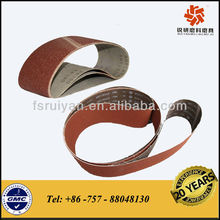 different joints ( lap or butt ) abrasive belt for industrial use