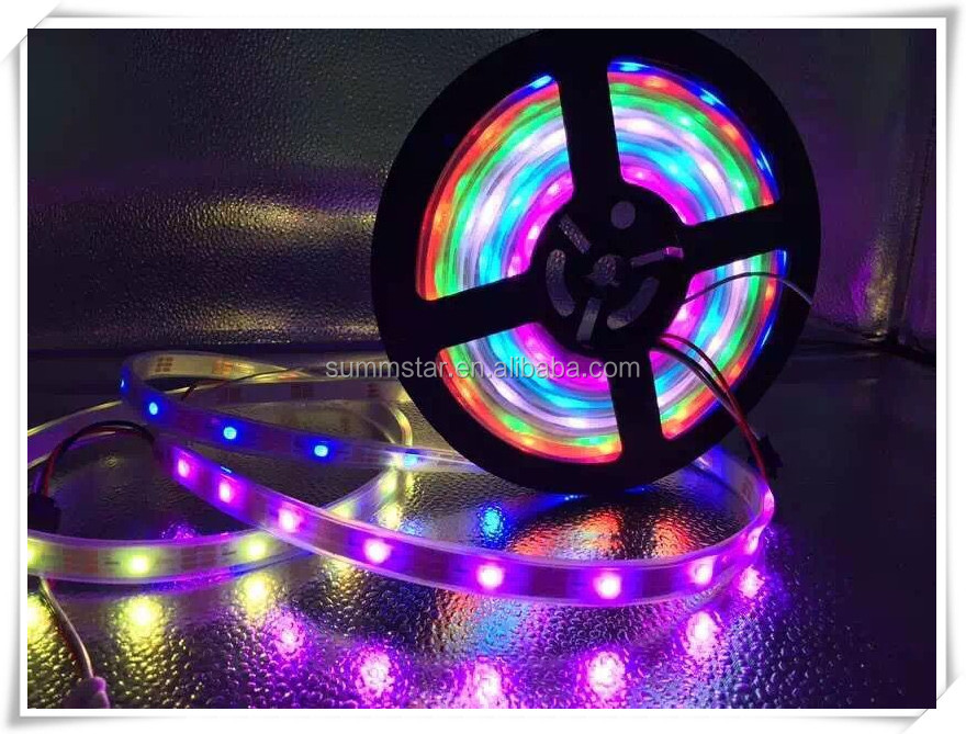 Advertising 30/60/144LEDs/m DC5V digital RGB WS2813B addressable led SMD5050 strip
