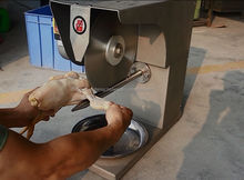 Stainless Steel Poultry Cutting machine/Meat Cutting Machine/Elk Meat Cuts