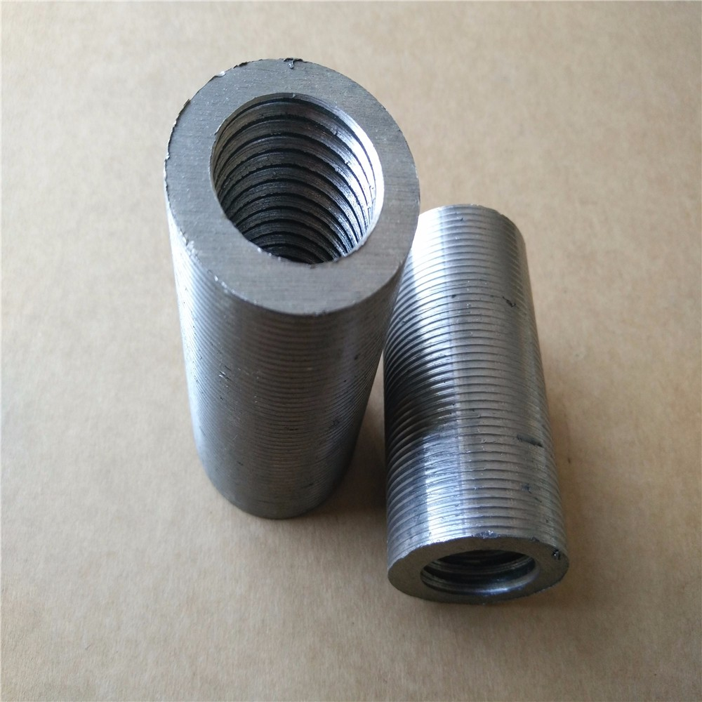 carbon steel Rebar Connectors / rebar coupler / steel bar connecting sleeve