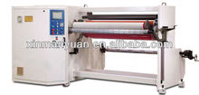 Single shaft bopp,foam,masking tape rewinding and cutting machine
