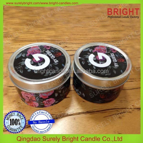 candle jar soy wax wholesale scented candles tin candles