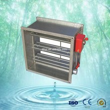 rectangular automatic fire damper for air conditioning system