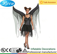 DJ-301 inflatable Bat Wings Adult Costume Demon Devil Fallen Angel Halloween Fancy Dress
