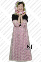 2014 Kyle and jane summer abayas for children with lace WAB 8017