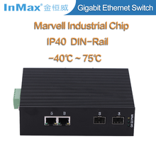 4 ports gigabit network switch Industrial Ethernet Switches for Video Transmission i504A