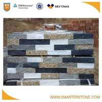 Decorative mixed color outdoor floor stone slate for wall and floor