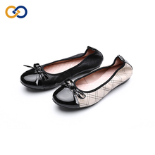 Bulk ballet slip on summer ladies lady flat closed private label belly pointed toe flats flat shoes women