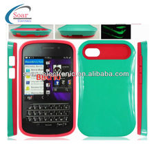 Glow in dark cute case for blackberry q10