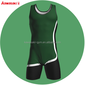High Quality custom sublimation Blank wrestling singlets For Factory