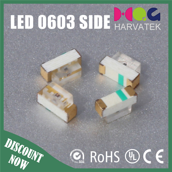 High quality Harvatek 1.7*0.6*1.1mm 1706 side view blue led diode