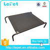 elevated camping cot/metal frame dog bed/elevated pet bed with knitted fabric