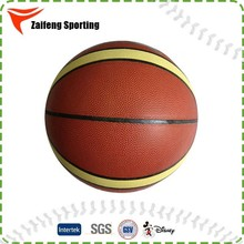Different size custom cheap basketball