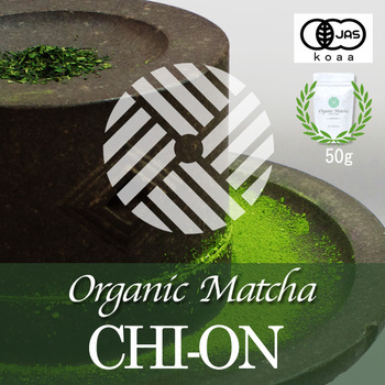 Organic Matcha CHI-ON 50g japanese jas green tea health food made in japan