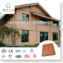 Rucca Wood Plastic Composite Outdoor Wall Panelling, 172*15mm exterior siding panels China Supplier