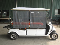 Electric golf car EG2048TB1 can be installed solar penel