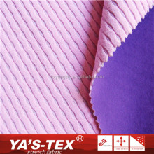 Low Price Warm Waterproof Jacquard Weave Polyester Coated TPU Knitted Fabric For Jackets