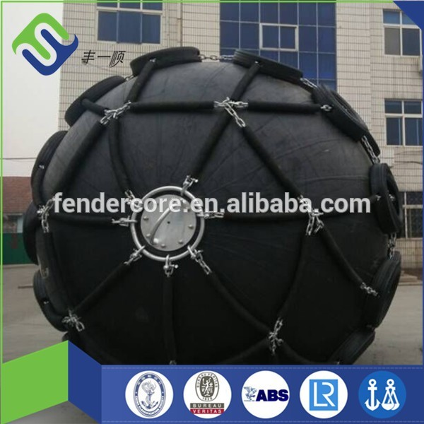 CW type Florescence floating inflatable rubber pneumatic Yokohama fender with BV CCS ABS certificate