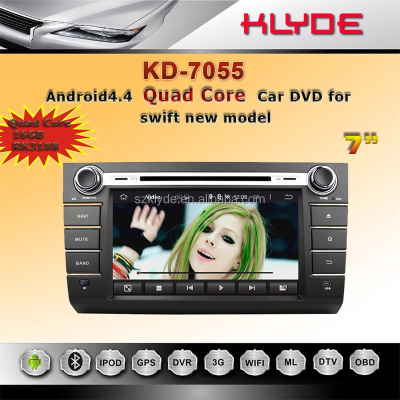 for suzuki swift car dvd gps navigation system