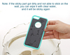 Water-clean reuse anti gravity phone case cover shell bags for IPhone 6 anti gravity case